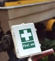 First-Aid Kit, Water-proof, for lone workers & vehicles